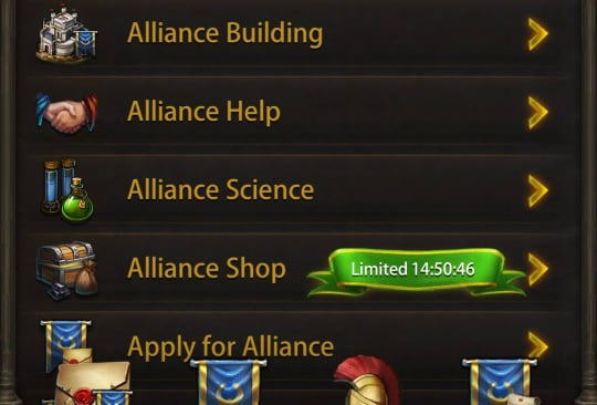 Image of evony guide: how to use alliance help