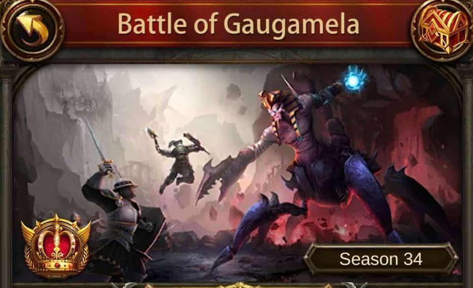 Image of evony guide to battle of guagamela (BoG)